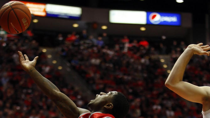 NCAA Basketball: New Mexico at San Diego State
