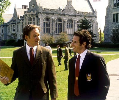 Kevin Kline is William Hundert and Rob Morrow is Mr. Ellerby in Universal's The Emperor's Club