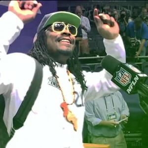 Seattle Seahawks running back Marshawn Lynch media sessions remix