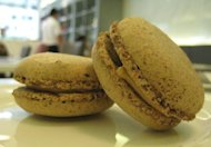 Holy Grail of Macarons: Foie Gras Macaron at The Cake Club