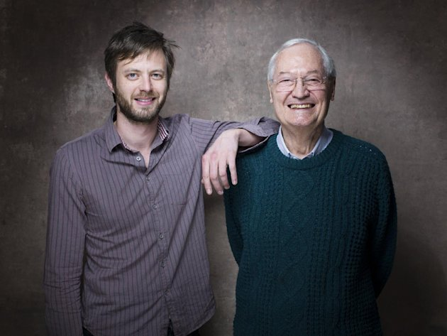 From left, director G.J. Echternkamp and producer Roger Corman from the film &quot;Virtually Heroes&quot; pose for a portrait during the 2013 Sundance Film Festival on Sunday, Jan. 20, 2013 in Park City, Utah. (Photo by Victoria Will/Invision/AP Images)