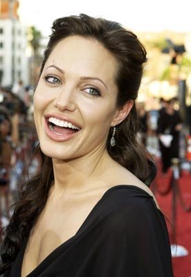 Angelina Jolie at the LA premiere of Paramount's Lara Croft Tomb Raider: The Cradle of Life