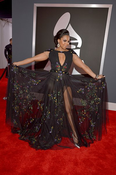WORST: Ashanti wearing Tony Ward Couture At first look, Ashanti seemed to have &quot;skirted&quot; the dress code this year. However, we totally spy a visible black thong! Not a good look.  Lester Cohen/WireIma