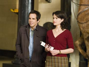 Ben Stiller and Carla Gugino in 20th Century Fox's Night at the Museum
