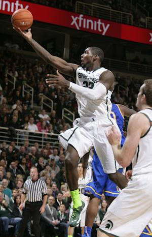 No. 2 Michigan State beats McNeese State 98-56