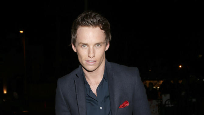 Eddie Redmayne attends the W Magazine's Best Performances and Golden Globe Awards Party Presented by Cadillac, on Friday, January, 11, 2013 in Los Angeles. (Photo by Todd Williamson/Invision for Cadillac/AP Images)