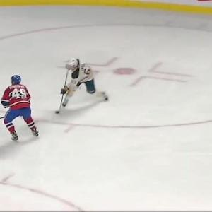 Tyler Ennis roofs one on Carey Price