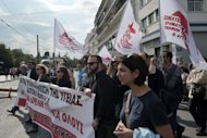 &lt;p&gt;Bank employees march on October 24, in the center of Athens during a 24-hour strike over austerity measures. Greece&#39;s finance minister announced he had agreed a new austerity deal with international creditors, but the EU and IMF insisted that while there had been progress, no deal had yet been thrashed out.&lt;/p&gt;