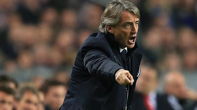 Roberto Mancini has defended his tactics against Ajax