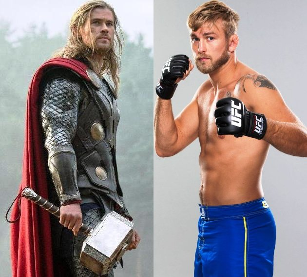 Thor vs Mauler (Yahoo Movies/Getty Images)