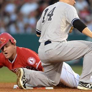 Angels defeat Yankees 2-1