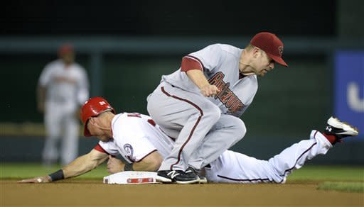 Harper helps Nationals beat Diamondbacks 2-1