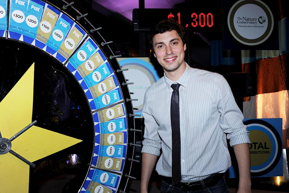 "John Francis Daley of ""Bones"" celebrates at the 2010 Fox Fall Eco-Casino party on September 13, 2010, at Boa in West Hollywood."