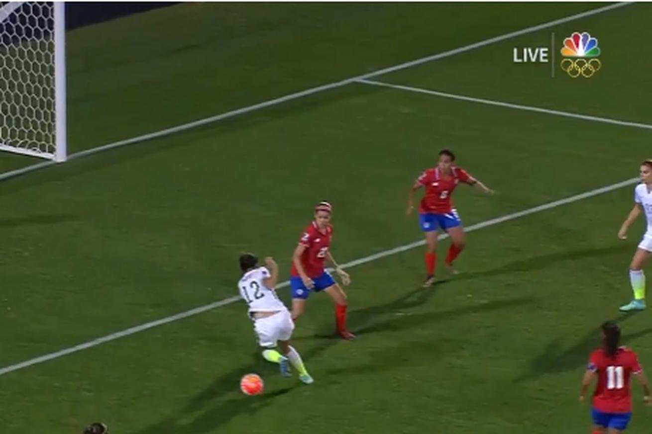USWNT's Christen Press pulled off a first touch so sick it has to be seen in slow-mo
