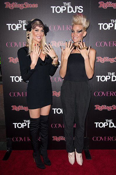 At the Rolling Stone & Cover Girl Top DJ's event, November 2012