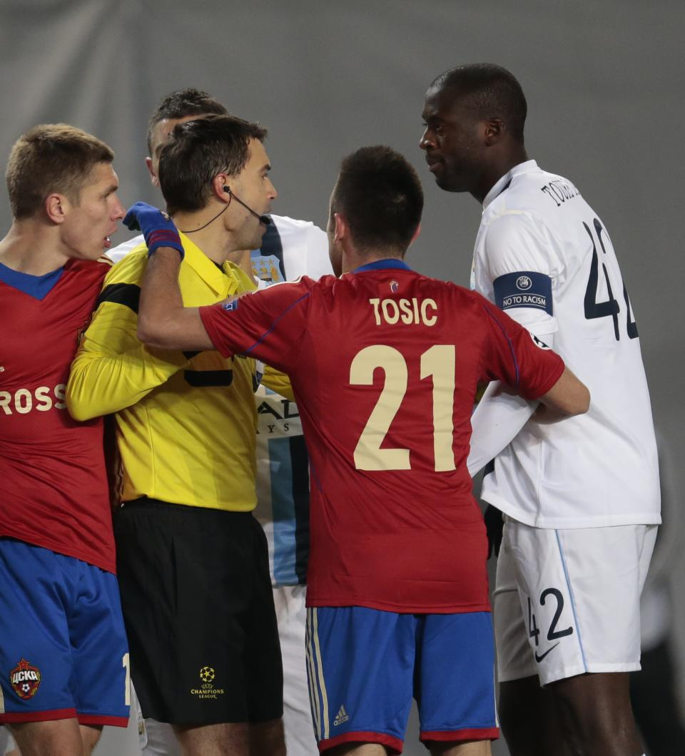 Moscow soccer club involved in racism controversy