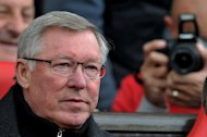 Manchester United manager Sir Alex Ferguson pictured before the Premier League match with Swansea City at Old Trafford on May 6, 2012. Ferguson has been fined for misconduct after implying that a linesman was biased during the recent match with Tottenham