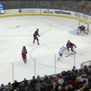 Henrik Lundqvist Save on Brendan Gallagher (04:21/3rd)