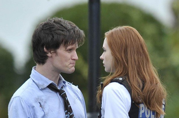 Matt Smith will always be the Doctor to Karen Gillan