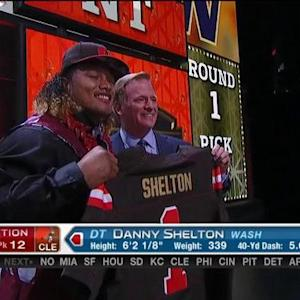 Cleveland Browns pick defensive tackle Danny Shelton No. 12 in 2015 NFL Draft