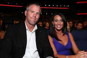 Brett Favre and wife Deanna Favre attend the 2008 ESPY Awards held at NOKIA Theatre L.A. LIVE on July 16, 2008 in Los Angeles -- Getty Images