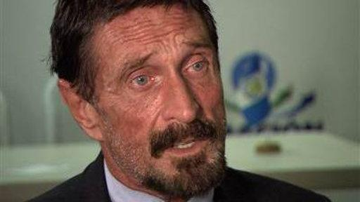 Tracking John McAfee On the Run from Police