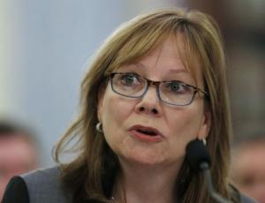 GM CEO Barra appears before the Senate Commerce, Science and Transportation Subcommittee in Washington