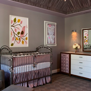 Super-Glam Nursery Design