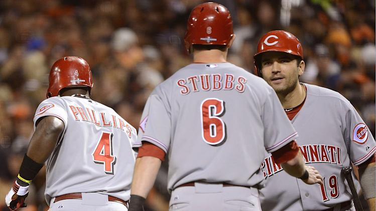 Division Series - Cincinnati Reds v San Francisco Giants - Game One