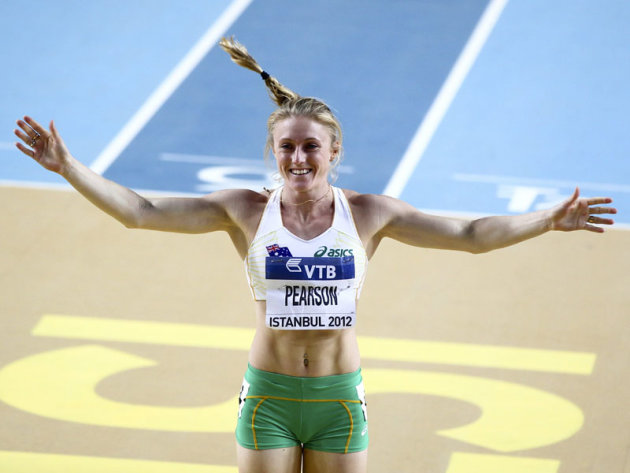 Pressure pumps Pearson up for Oly gold