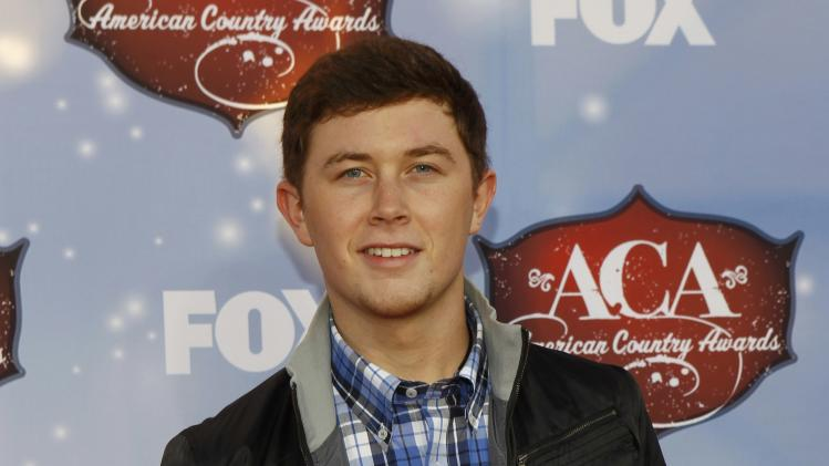 Singer Scott McCreery arrives at the 4th annual American Country Awards in Las Vegas