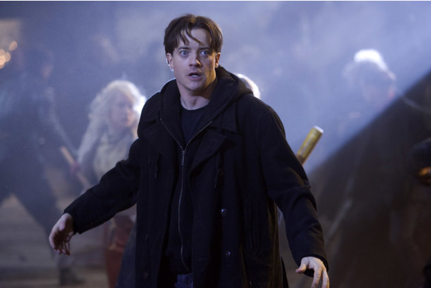 Brendan Fraser Inkheart Production Stills New Line 2009