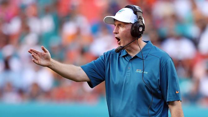 Dolphins assistant defends Philbin in scandal