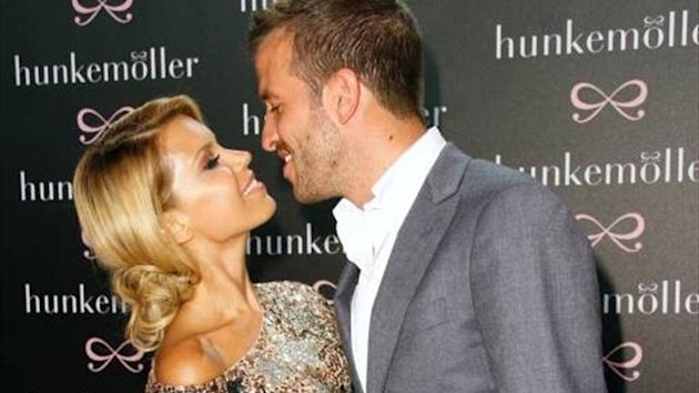 Sylvie und Rafael van der Vaart 2012