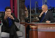 Charlie Sheen, David Letterman | Photo Credits: CBS
