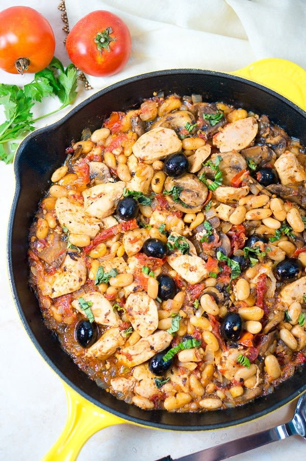 One pot dinners tuscan chicken