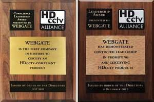 "WEBGATE Won the ""Compliance Leadership Award"" for Two Consecutive Years in 2011 and 2012"