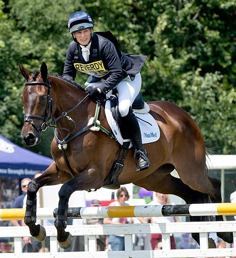 Zara Phillips Competes in Horse Trials Days After Pregnancy Announcement