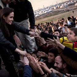 Angelina Jolie: We're 'Failing' Millions Of Refugees In Iraq, Syria