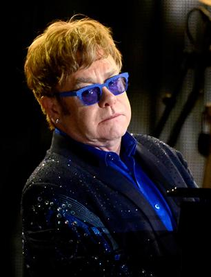 Elton John Previews New Album at L.A. Listening Party