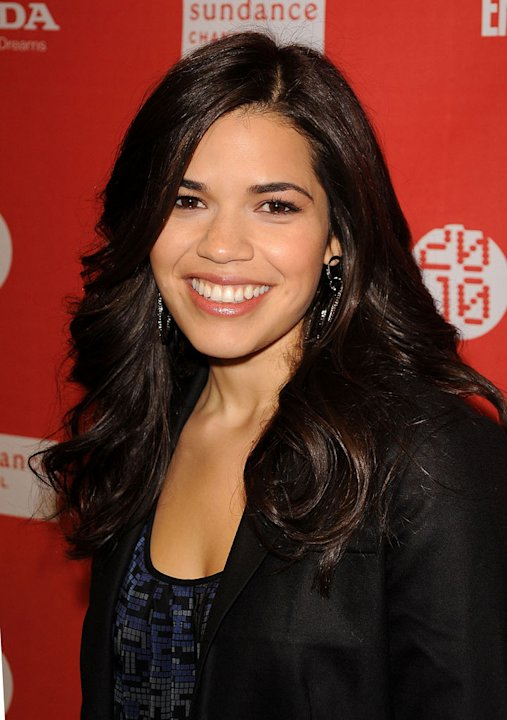 "America Ferrera attends ""The Dry Land"" premiere during the 2010 Sundance Film Festival at Eccles Center Theatre on January 24, 2010 in Park City, Utah."