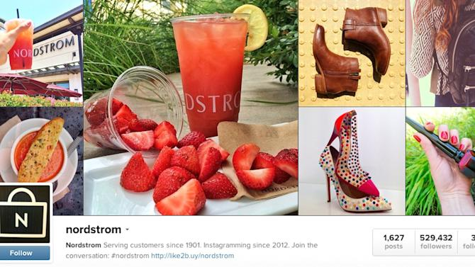 Target, Nordstrom make Instagram shoppable