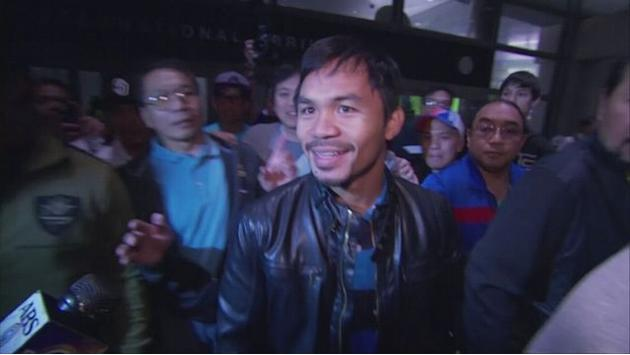 Pacquiao prepares for Bradley rematch