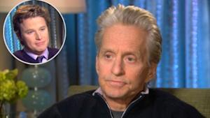 Billy Bush interviews Michael Douglas for Access Hollywood, NYC, Jan. 10, 2010 -- Access Hollywood