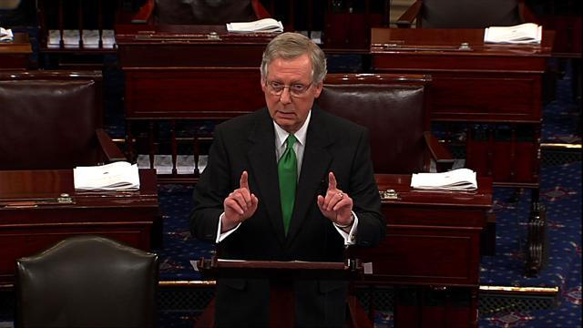 "McConnell: Senate ""very, very close"" to a ""fiscal cliff"" agreement"