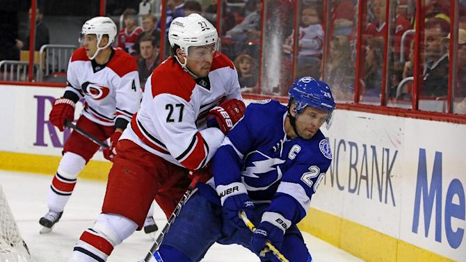 Bishop blanks Hurricanes 3-0 in Lightning win