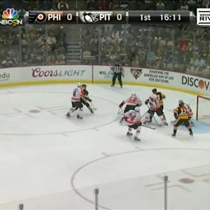 Philadelphia Flyers at Pittsburgh Penguins - 10/22/2014