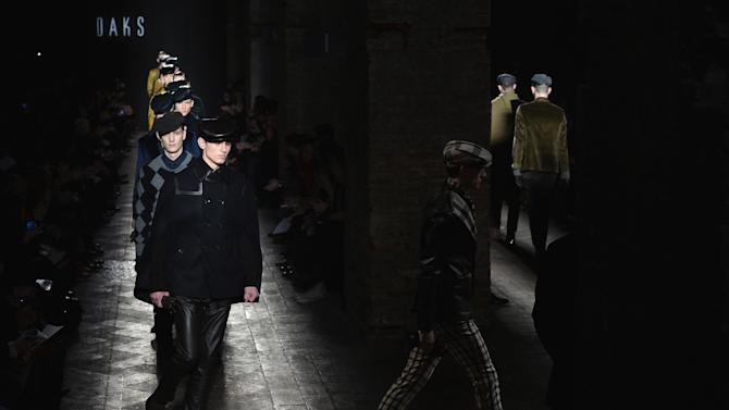 Daks - Runway - Milan Fashion Week Menswear Autumn/Winter 2013