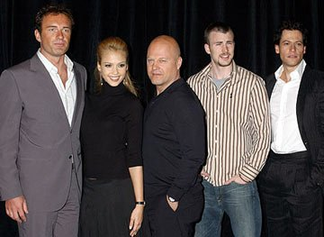 Julian McMahon, Jessica Alba, Michael Chiklis, Chris Evans and Ioan Gruffudd