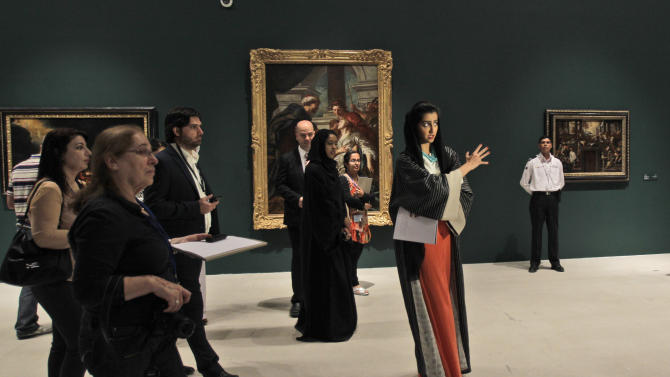 Louvre Abu Dhabi gives peek at collection